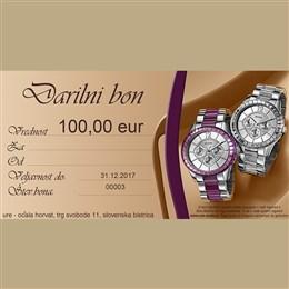 Darilni bon 100,00 eur