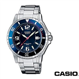 Moška ura Casio MTD-1053 modra