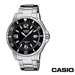 Moška ura Casio MTD-1053 črna