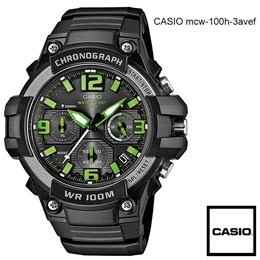 Ročna ura Casio MCW-100h-3avef