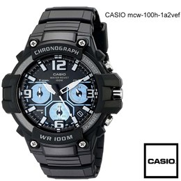 Ročna ura Casio MCW-100h-1a2vef