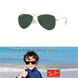 Otroška sončna očala Ray Ban Aviator RJ9506
