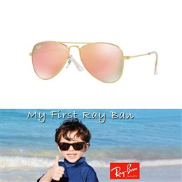 Otroška sončna očala Ray Ban Aviator RJ9506S