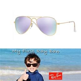 Otroška sončna očala Ray Ban Aviator RJ9506S 249