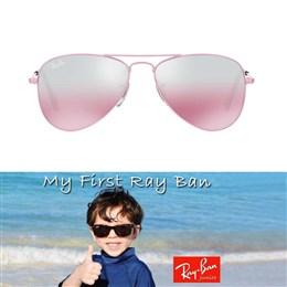 Otroška sončna očala Ray Ban Aviator RJ9506 122