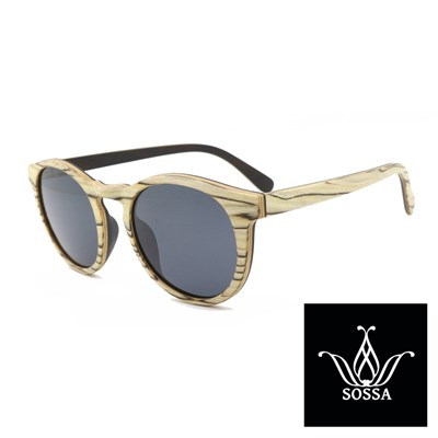 Lesena sončna očala Sossa 2606