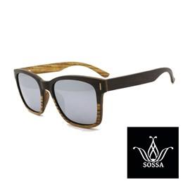 Lesena sončna očala Sossa 2607