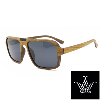 Lesena sončna očala Sossa 2610