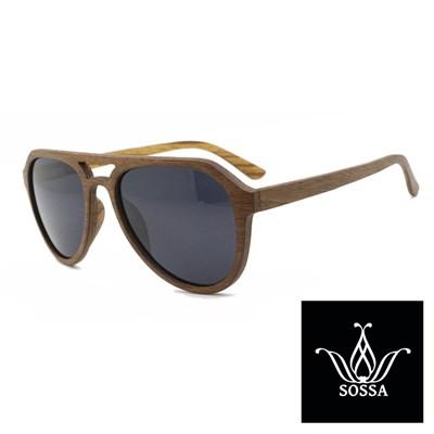 Lesena sončna očala Sossa 2616